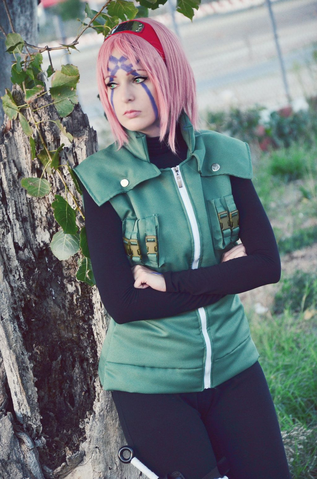 Sakura Haruno. Shinobi War cosplay by SakuraBlossom94 on