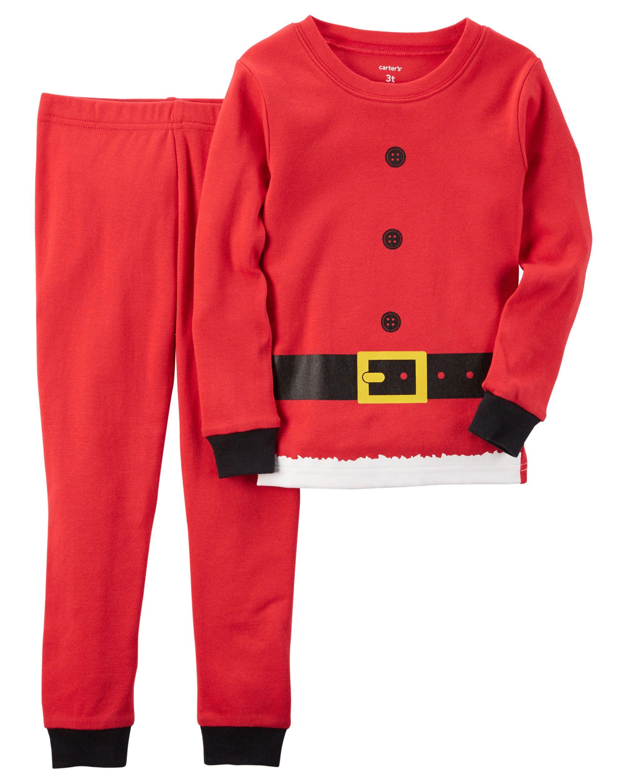 3db91d3fc70b Toddler Boy 2-Piece Snug Fit Cotton Christmas PJs