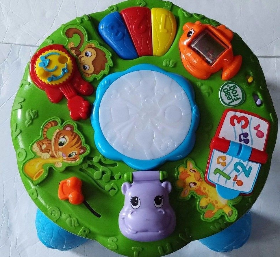 Leapfrog Animal Adventure Learning Blue Musical Activity Table