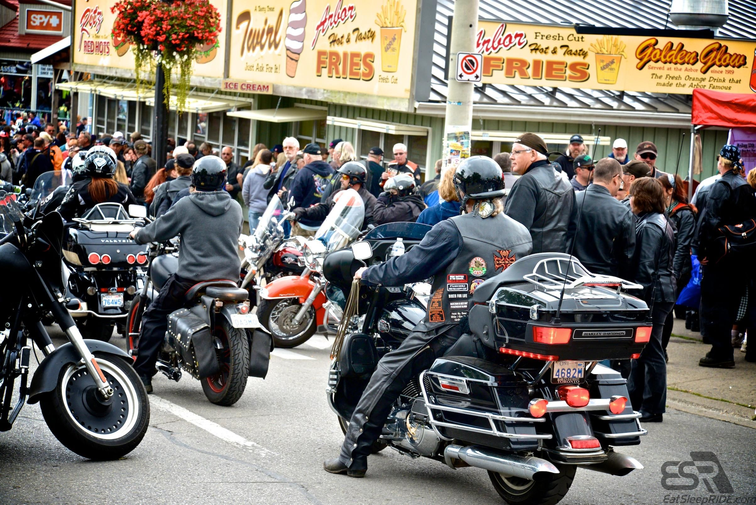 Port Dover Friday June 13th, 2104  #motorcycle #ride