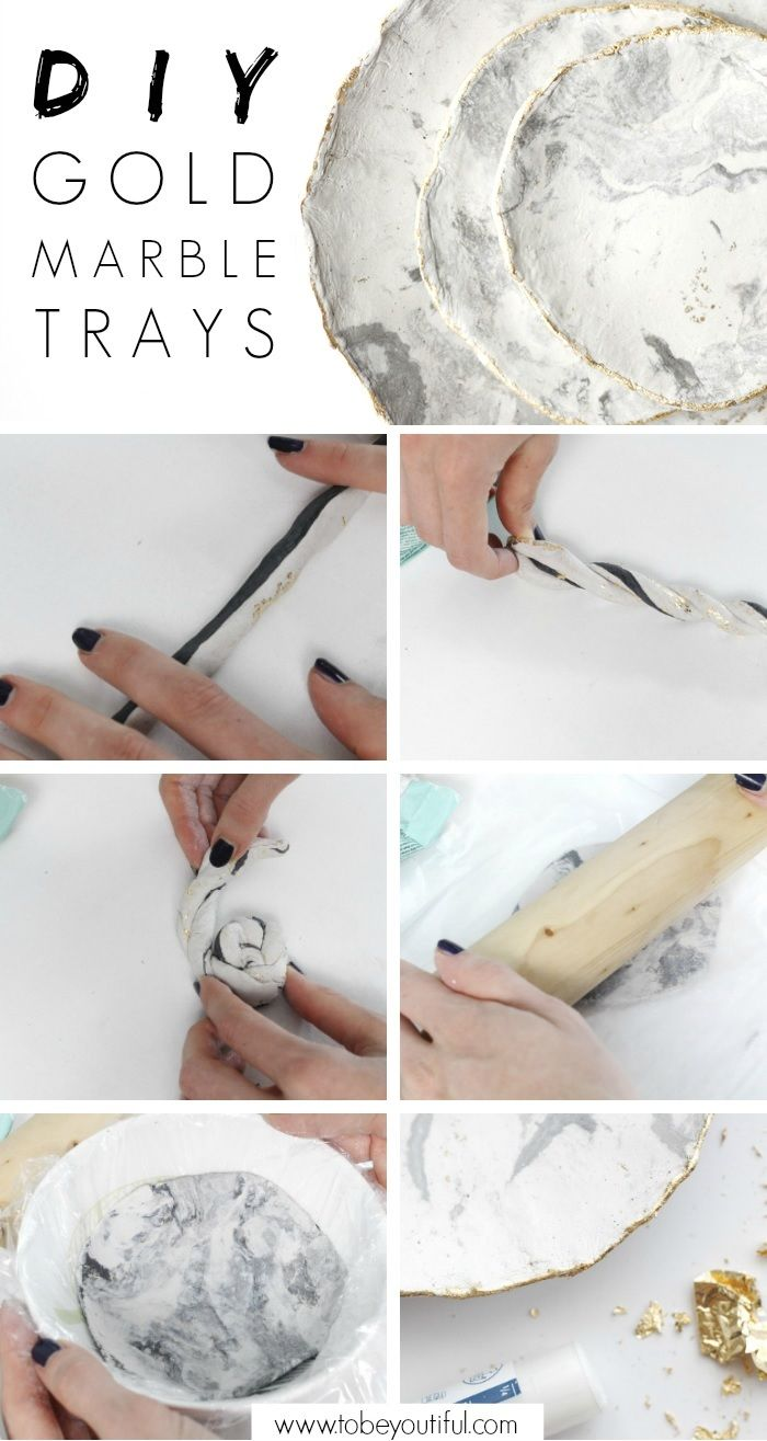 DIY Marble tray tutorial