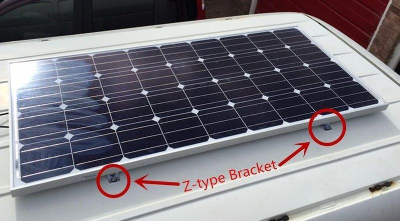 Solar Panel Mounts for Vehicle Mounted Systems Mobile