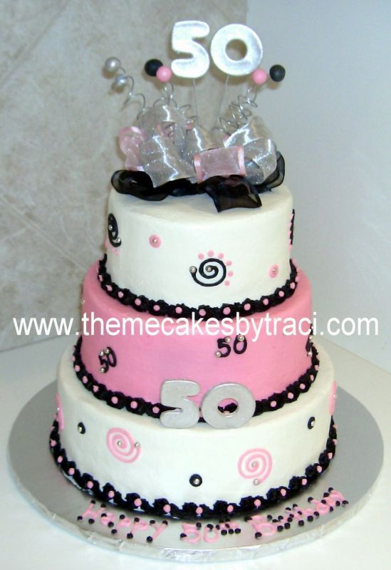 Elegant Birthday Cakes For Women 50thbirthdaycakespictures