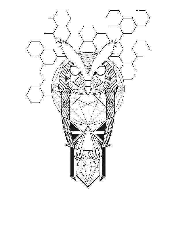 owl tattoo design tattoo designs tattoo ideas gud geometric owl ...