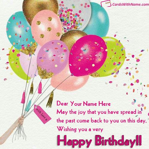 birthday greeting card editing cards