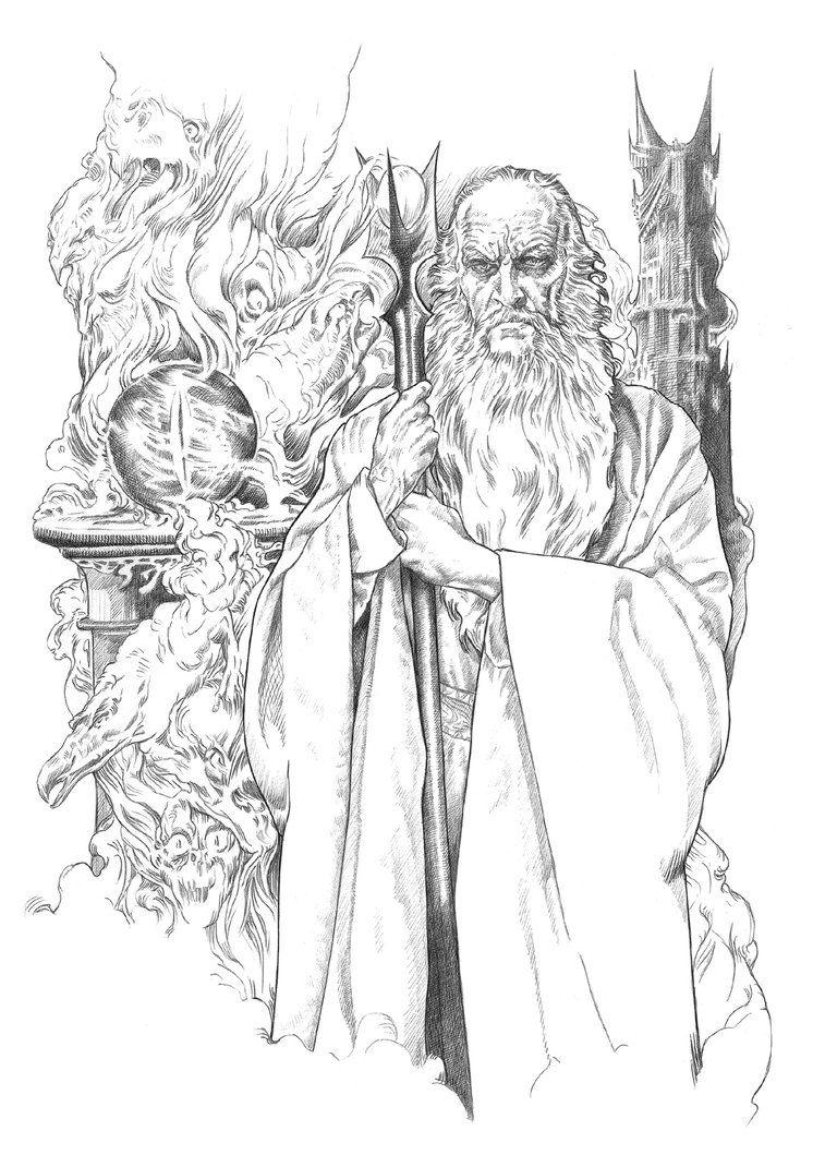 Saruman by NachoCastro on DeviantArt | hobbit/lord of the rings ...