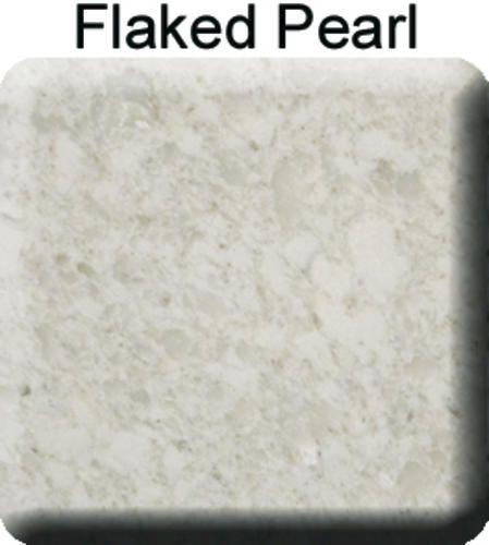 Flaked Pearl Countertops Riverstone Quartz Countertop Sample At Menards Countertops Porcelain Flooring Kitchen Redesign