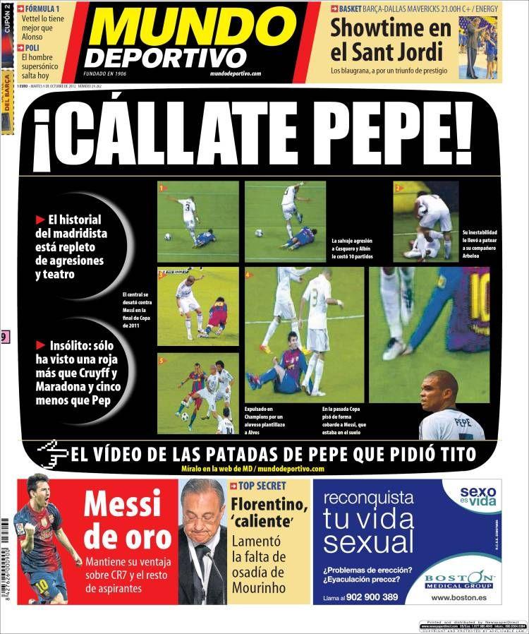Prensa deportiva del 9 de Octubre 2012