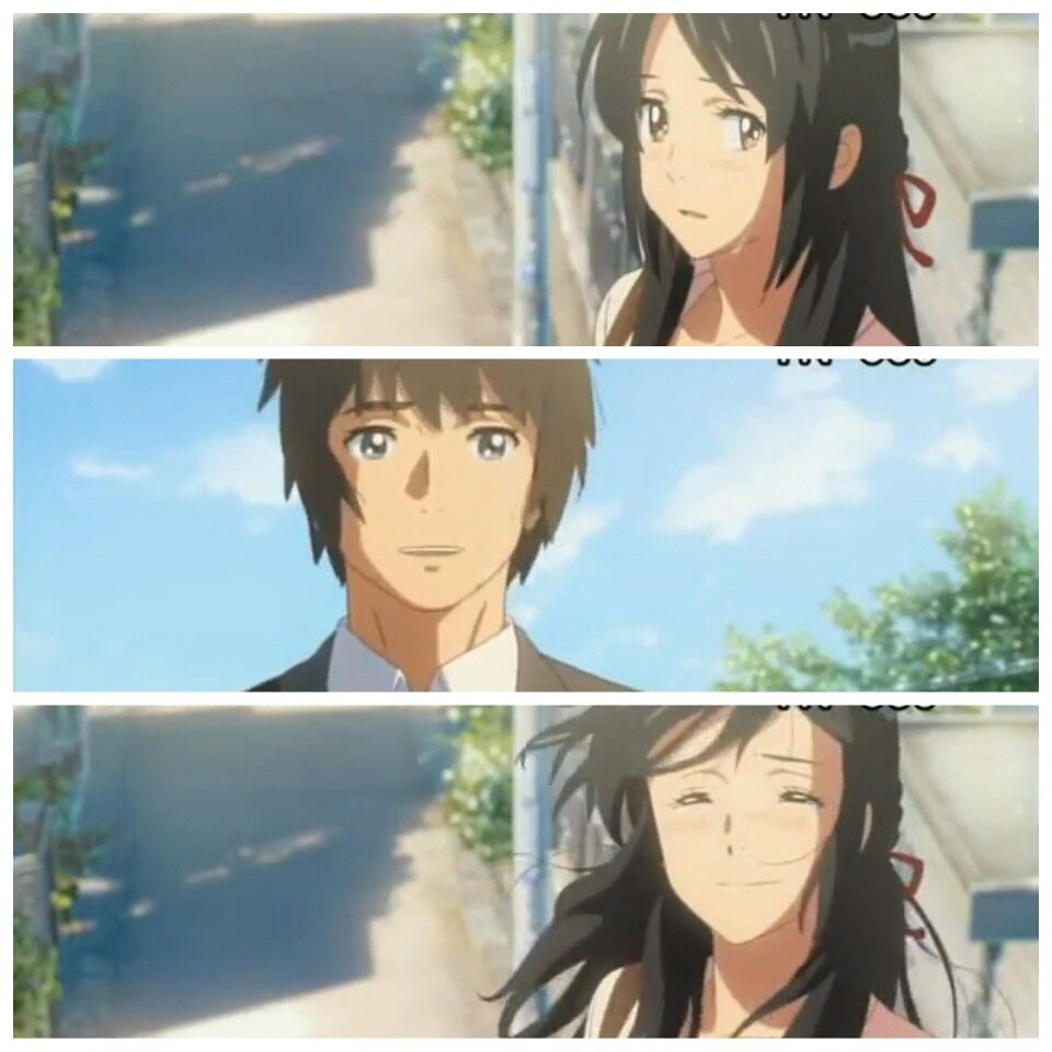 Kimi no Na wa/Your name. Truly a beautiful anime that my ❤ hurt  best ever along with Spirited Away