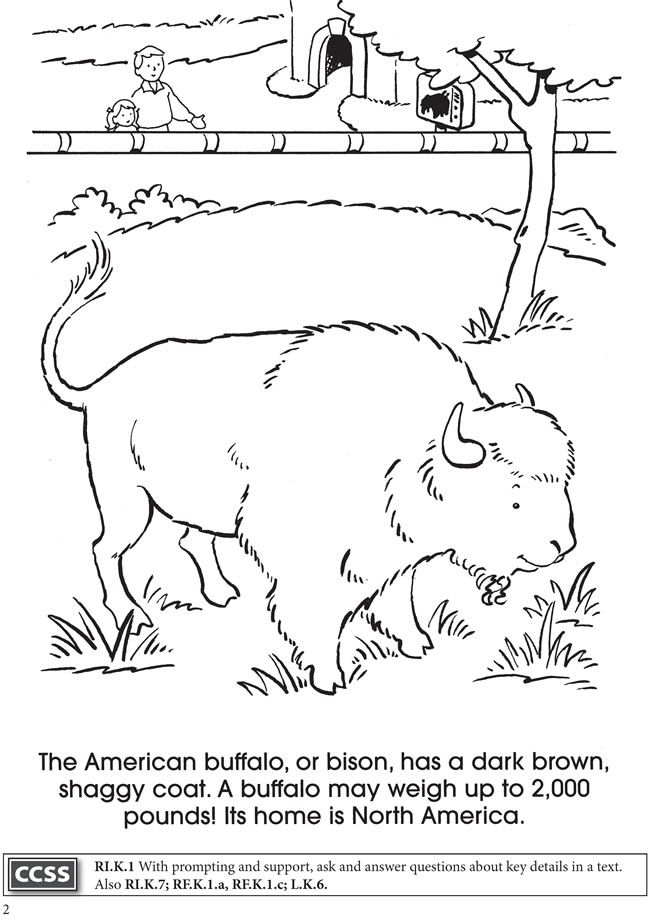 Dover Children\'s Book Sampler - BOOST At the Zoo Coloring Book ...