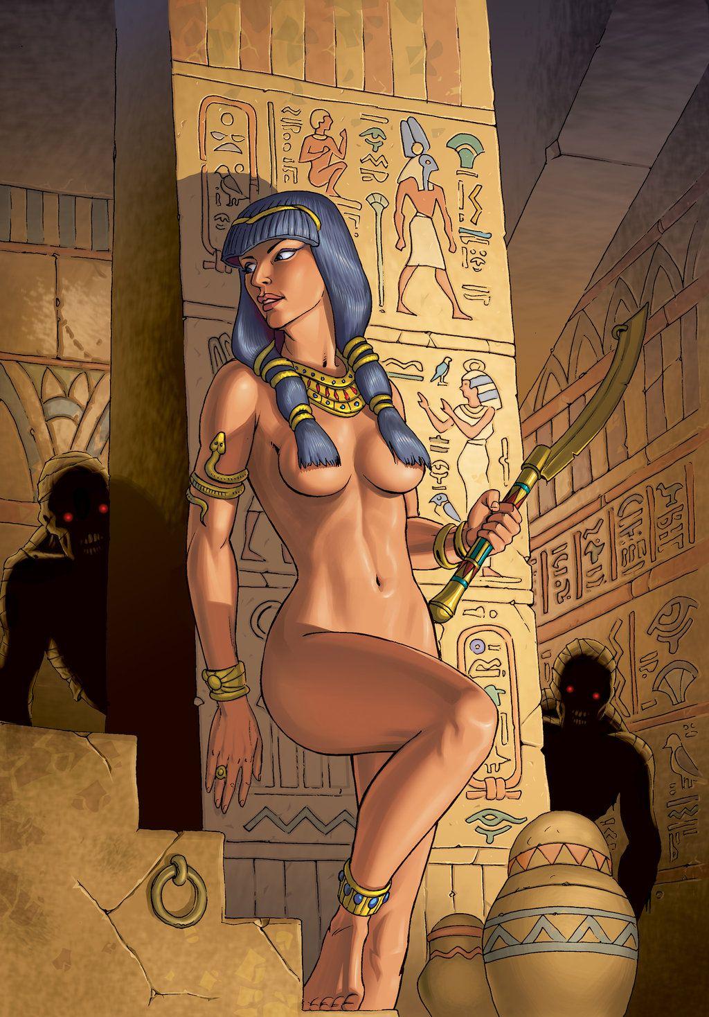 обнаженная женщина в костюме нефертити проснулся поймет