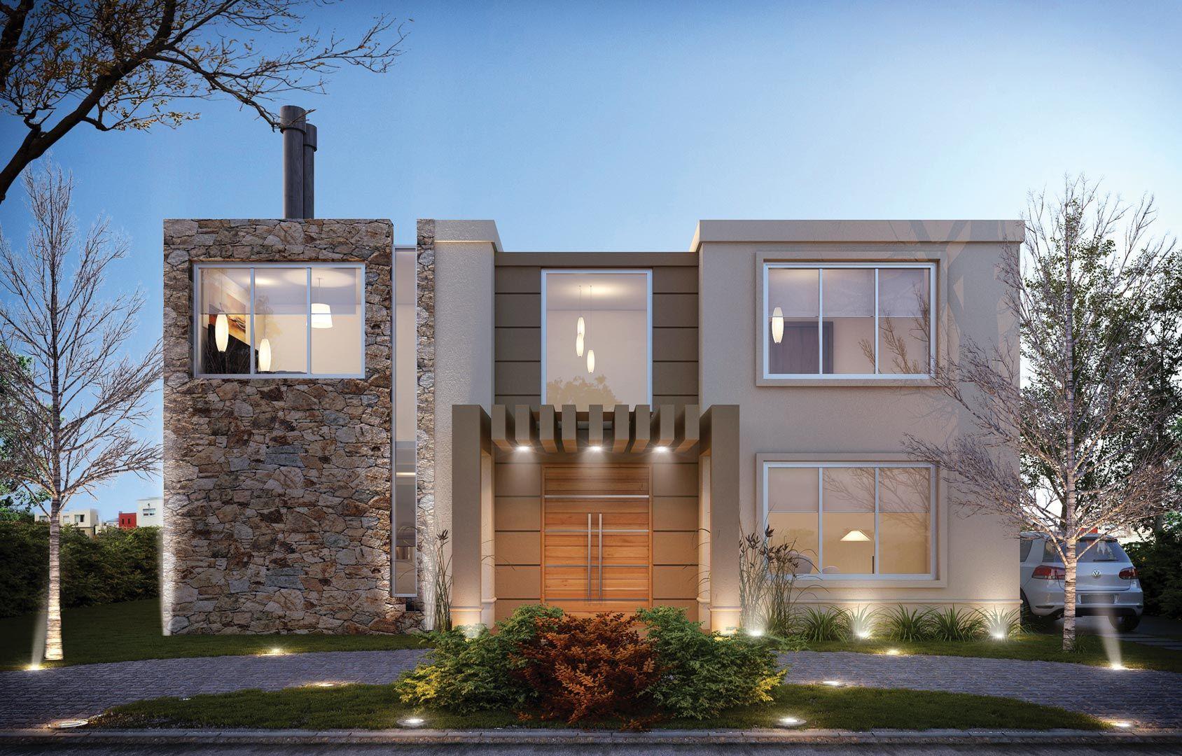 Estudio nf y asociados casa estilo foto estudio y - Arquitectos casas modernas ...
