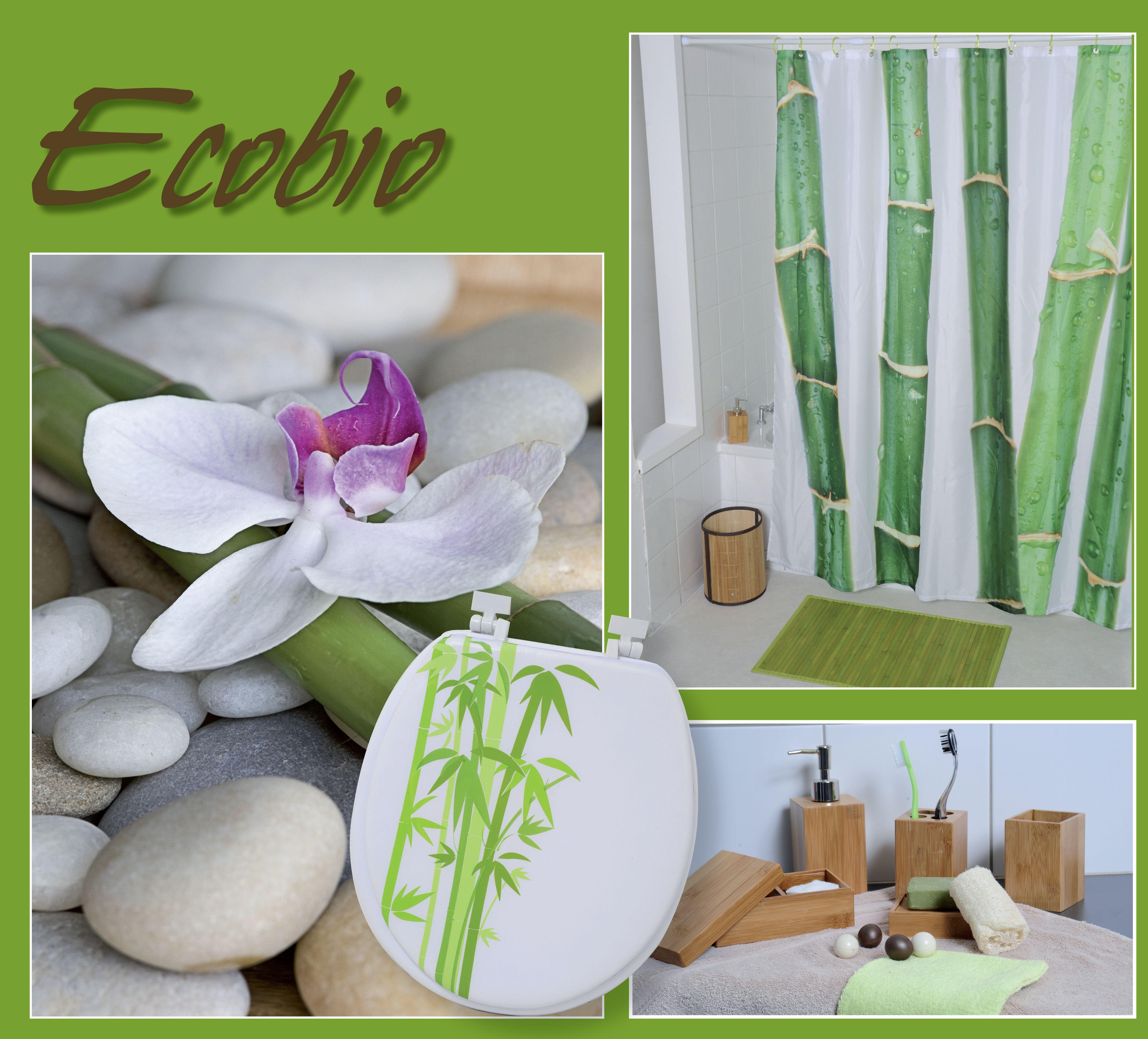 COLLECTION ECOBIO | Bamboo bathroom, Table decorations, Decor