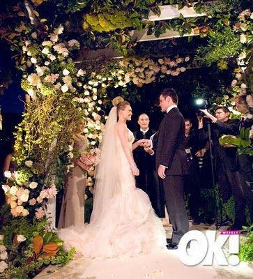Wedding Hilary Duff And Mike Comrie Wedding Wedding Alters