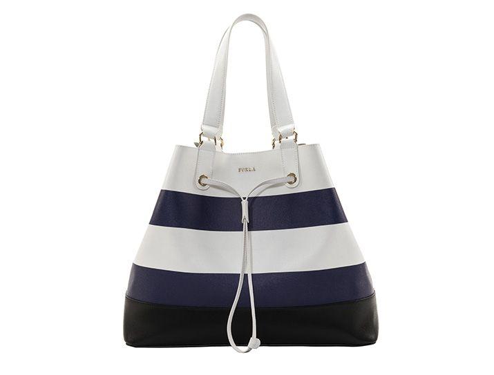Furla bags, shoulder bags, buckets, shoppers, bucket bag, navy-style1