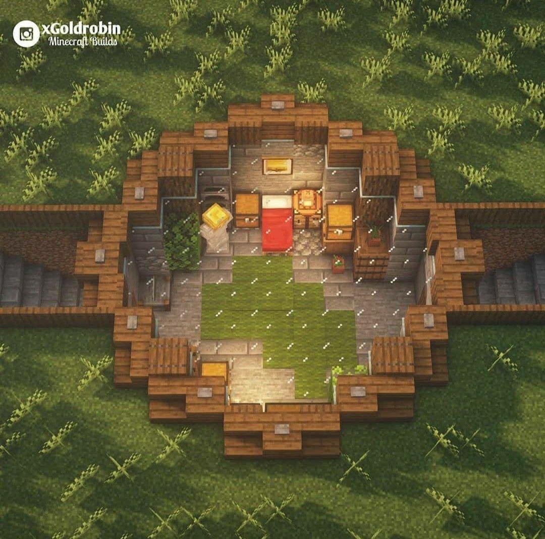 Underground Base Design Minecraft Minecraft Houses Minecraft Building Cute Minecraft Houses