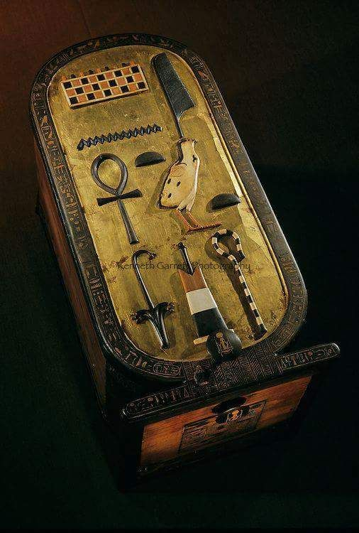 Cartouche Of King Tut With His Name & Title On