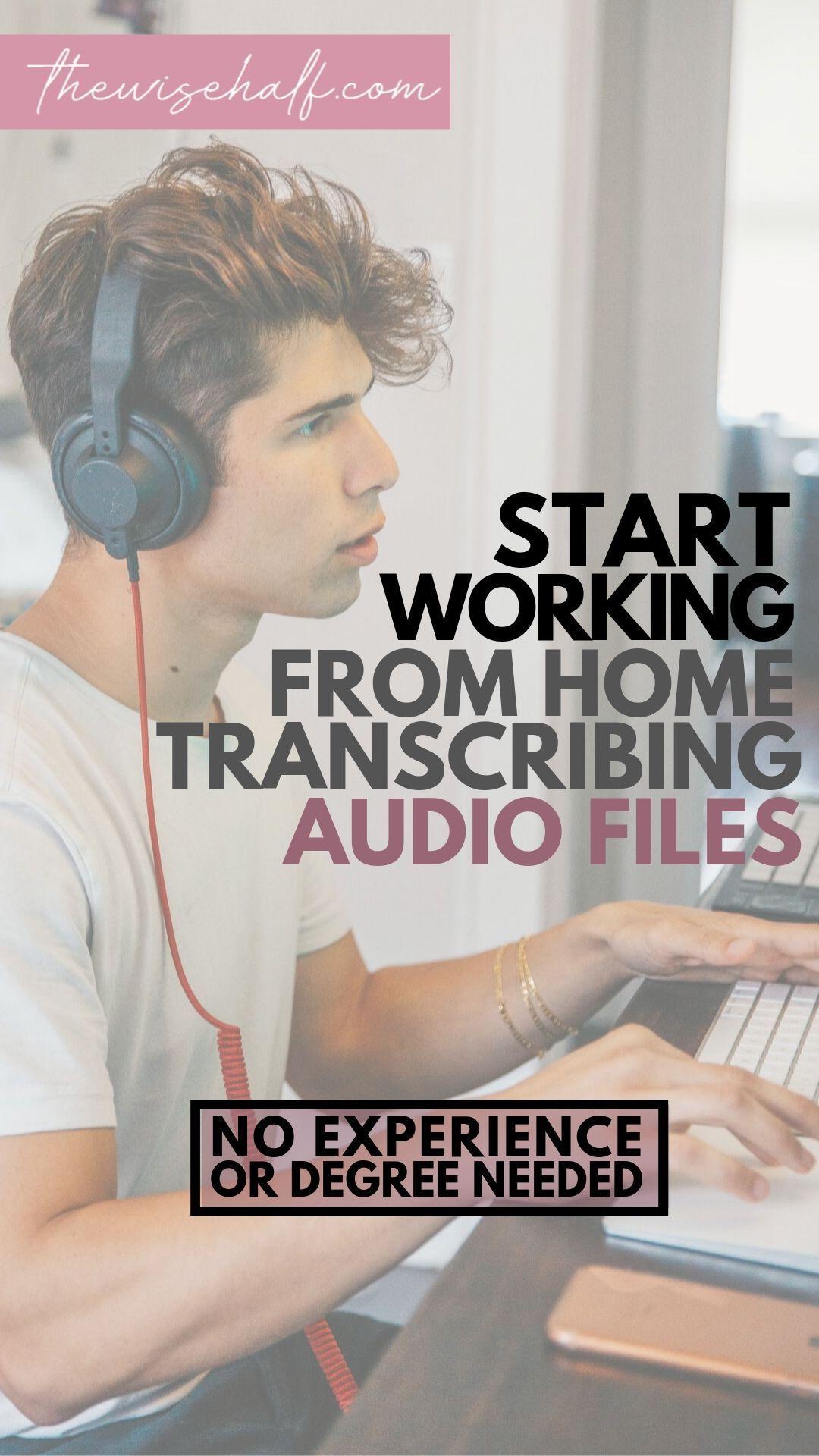 Freelance Transcription Jobs For Beginners. How To Start