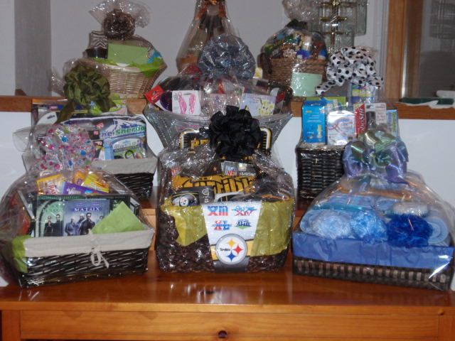Family Reunion Chinese Auction Gift Baskets