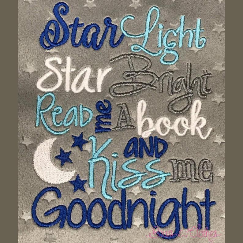 Star Light Book saying design digital instant download