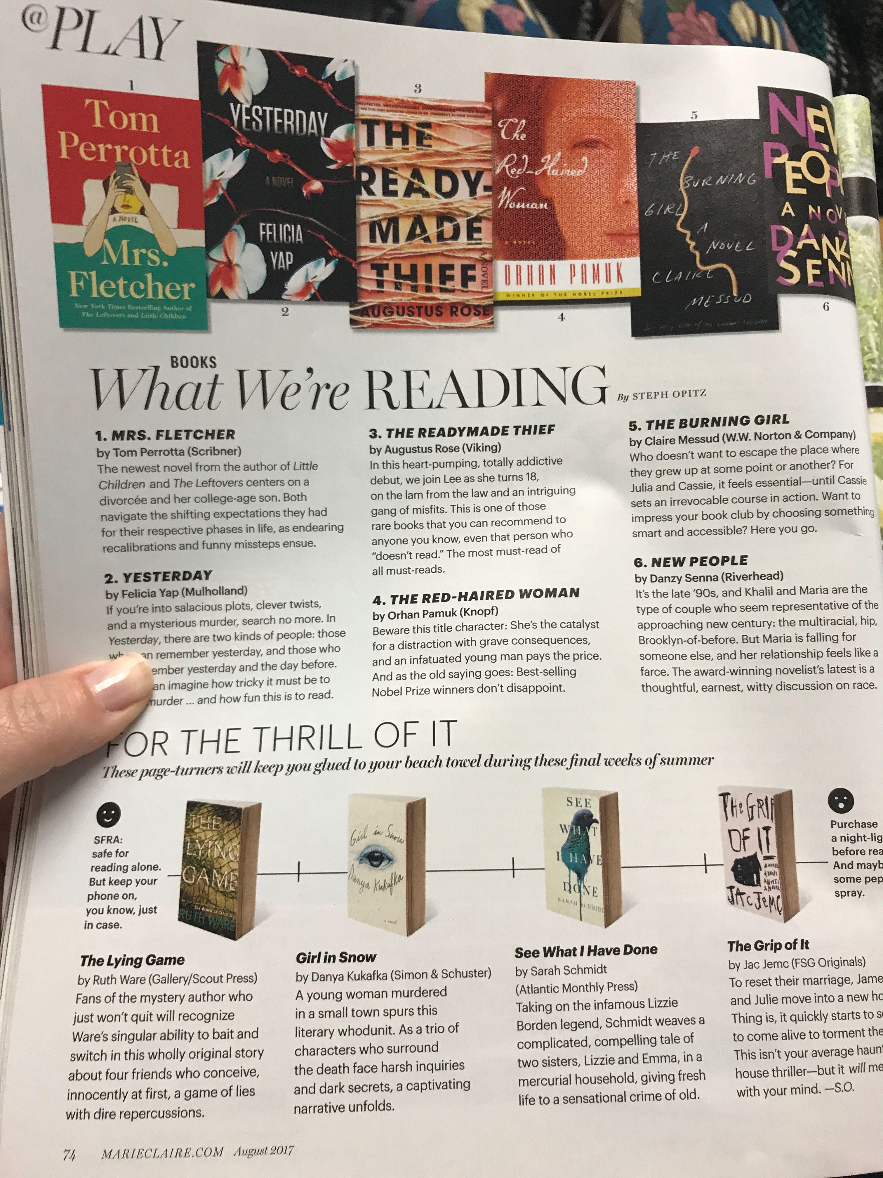 Book Recommendations Book Recommendations Burning Girl Books