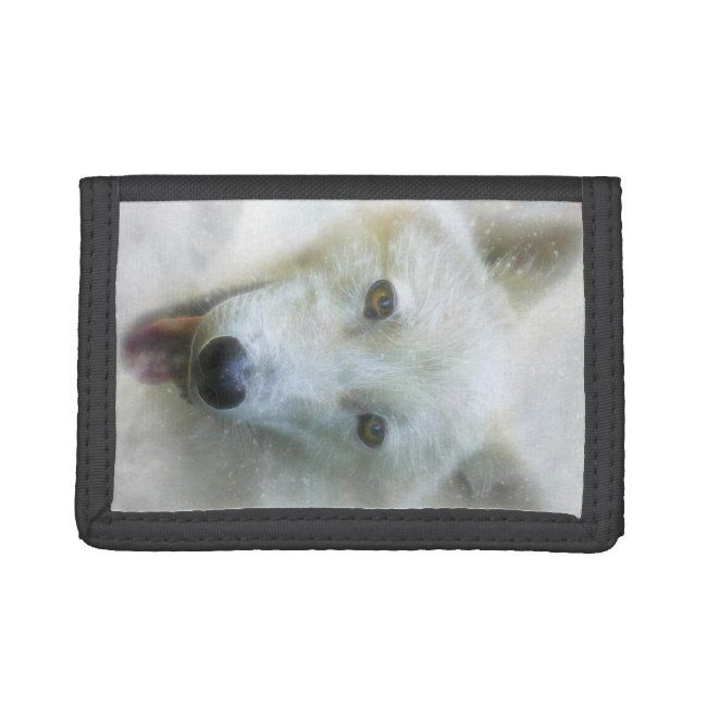 ARCTIC WOLF SNOW PIERCER TRIFOLD WALLET #Ad , #Ad, #PIERCER#TRIFOLD#WALLET#SNOW