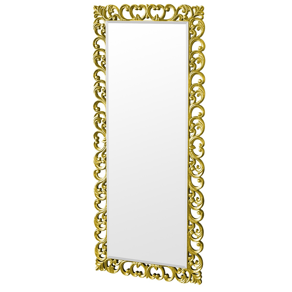 Vincenza Stunning Carved Bold Gold Mirror Gold Mirror Wall Gold Framed Mirror Mirror Wall