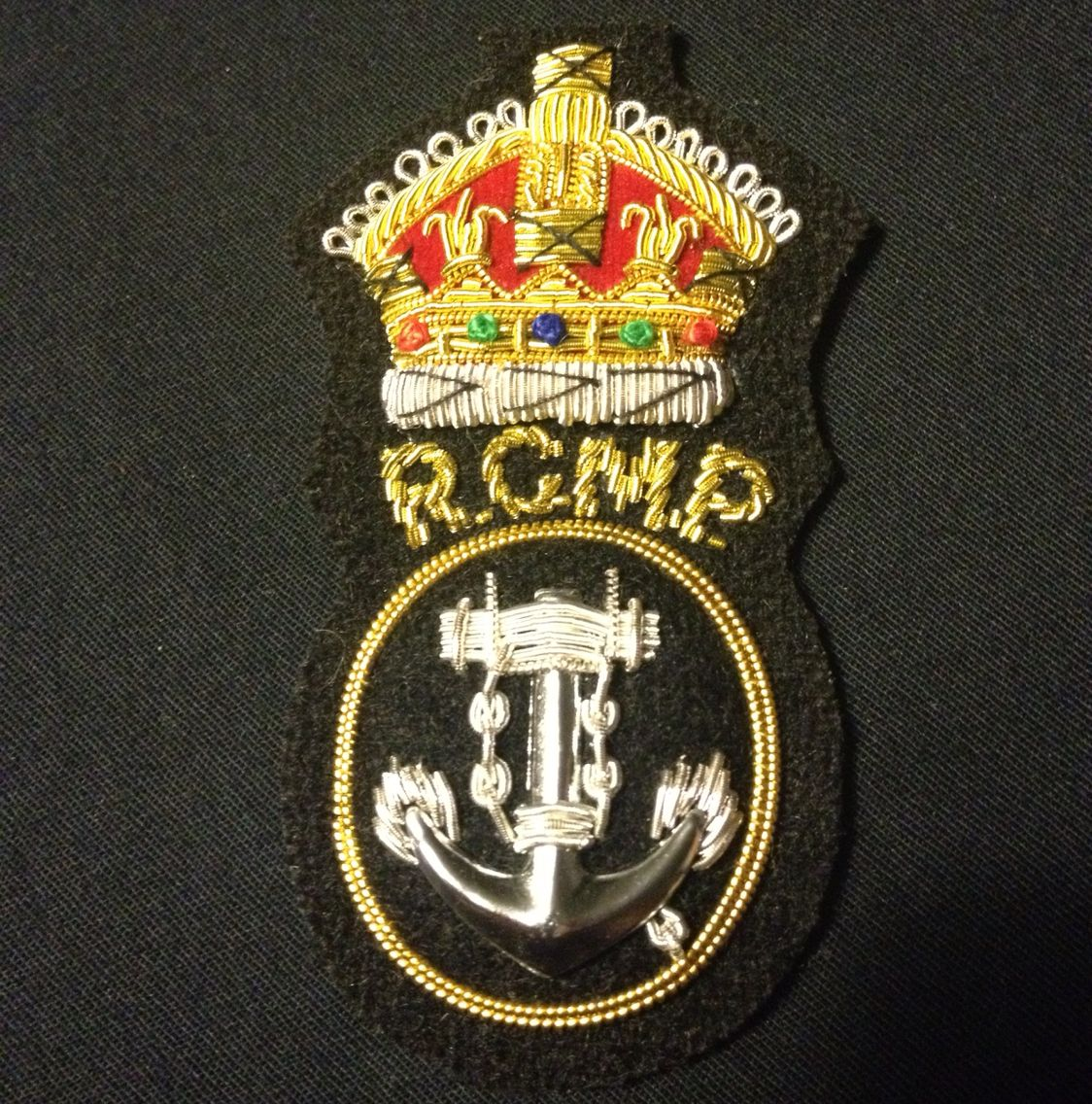 RCMP marine unit Canadian military, Police badge, Police