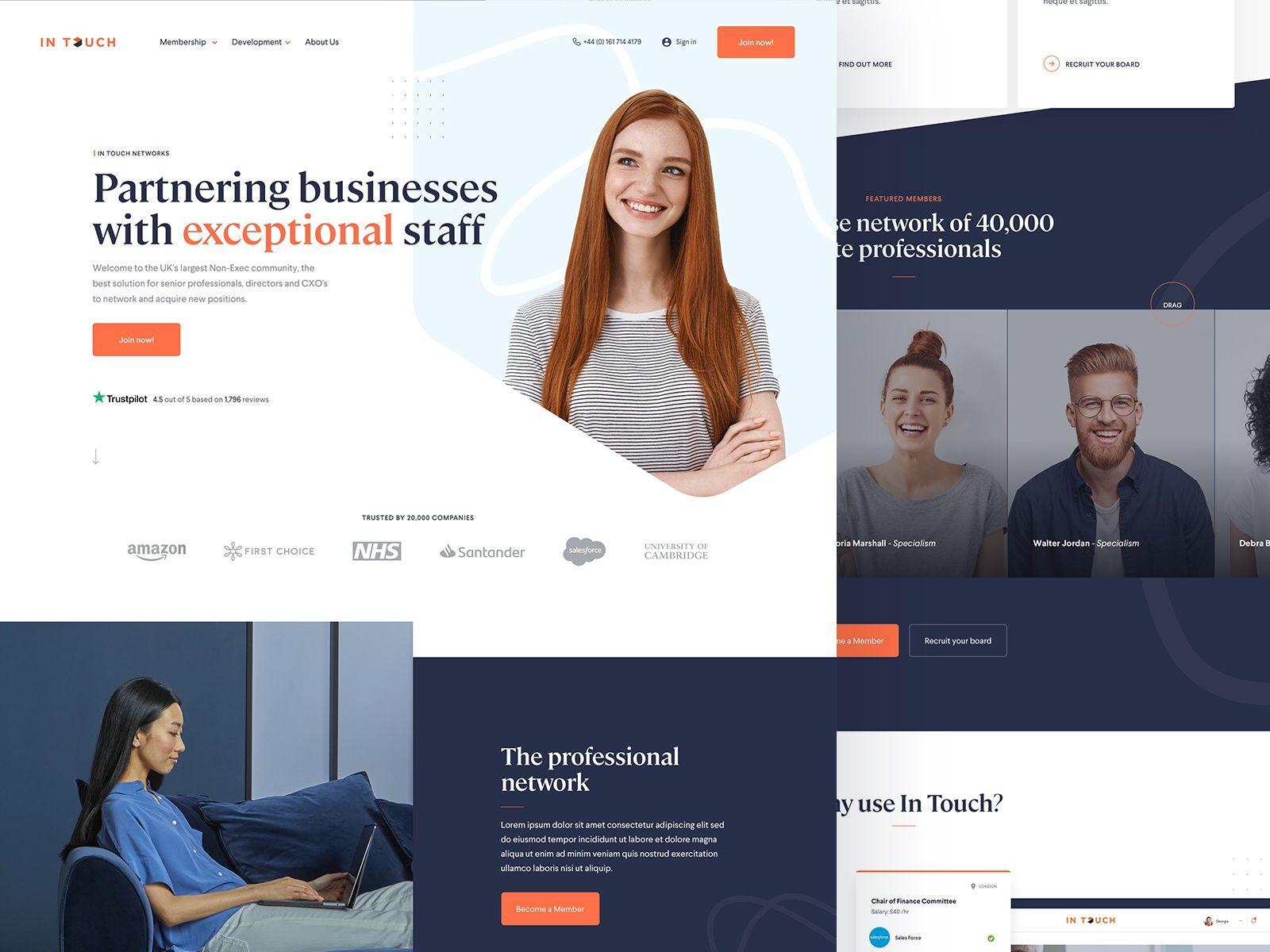 Recruitment Homepage Recruitment Website Design Recruitment Homepage Design