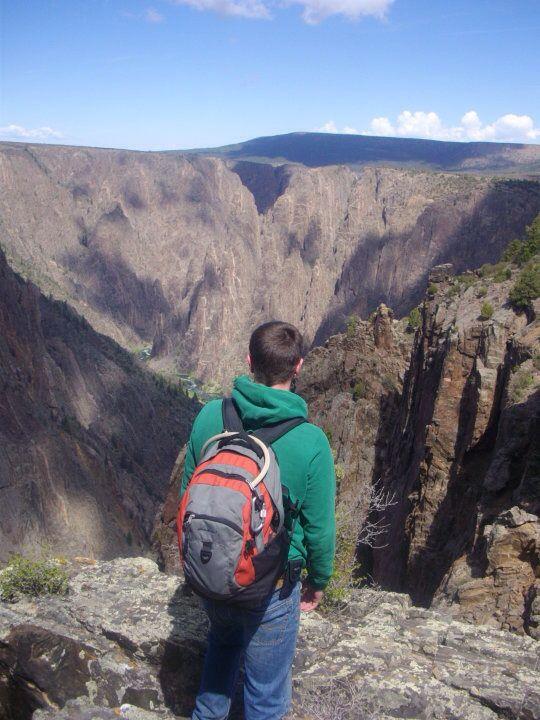 Overlooking Black Canyon