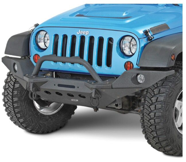 Smittybilt Xrc M O D Front Bumper With Full Width End Caps Bull