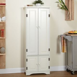 Simple Living Extra-tall Cabinet | Overstock.com Shopping - The Best Deals on Buffets #pantrycabinet