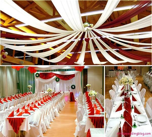 Wedding Hall Decoration Ideas: Eye Catching Decorations For The Ceiling Of Asian Weddings