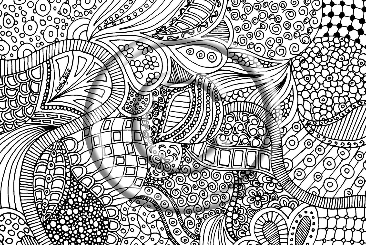 Unavailable Listing On Etsy Doodle Drawings Doodle Art Zentangle