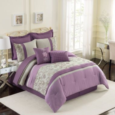 Fleurette 8 Pc Comforter Set Found At Jcpenney Decor Design