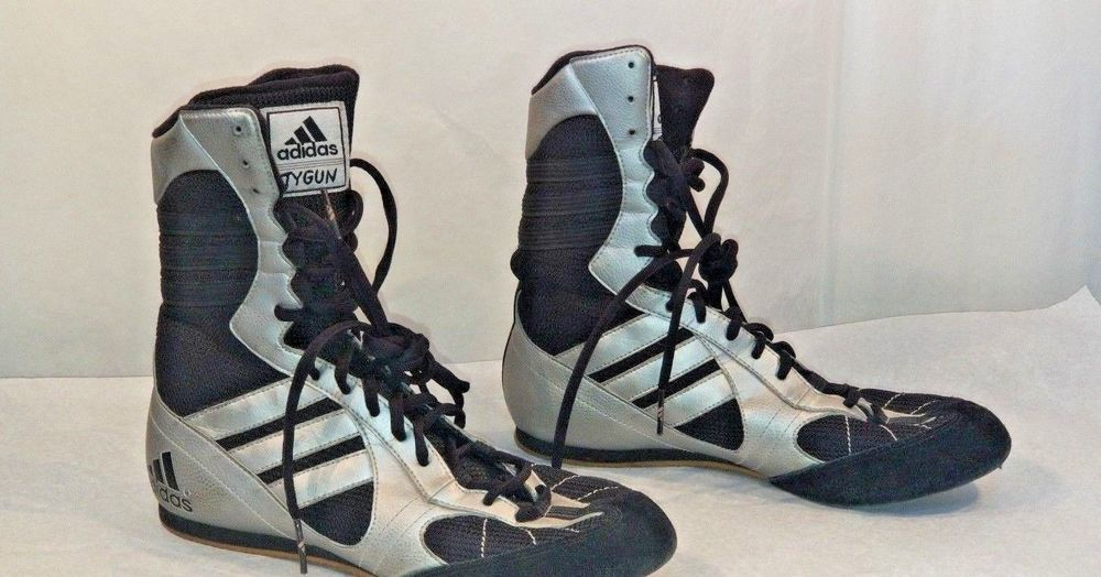 excellent quality genuine shoes crazy price 2003 ADIDAS Tygun BOOTS Hi Tops Shoes COMBATS BOXING ...