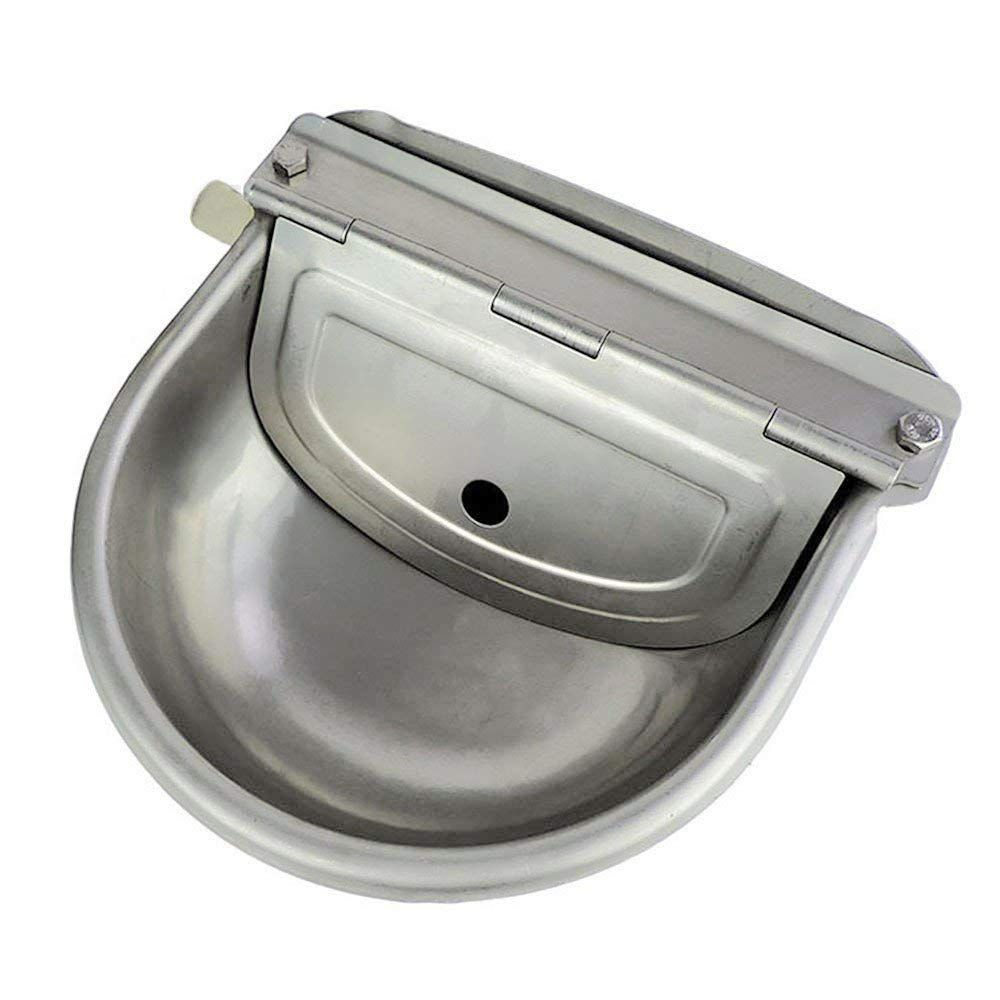 Automatic Stock Feeder Trough Bowl Waterer For Pet Dog Horse Cattle Goat Sheep Water Stainless Steel Farm Tool Wonderful Of You To Pet Dogs Farm Tools Cattle