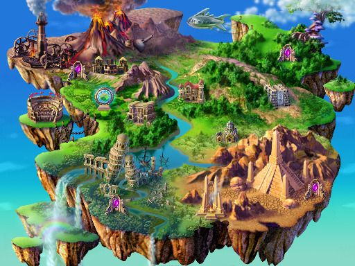 World map game world maps pinterest game art and concept art world map gumiabroncs Images