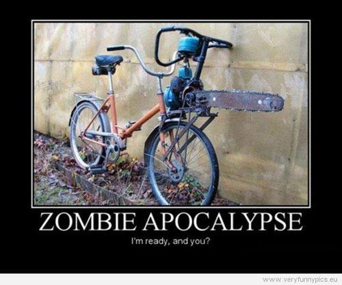 Bike Jokes Google Search Bikes Zombie Apocalypse