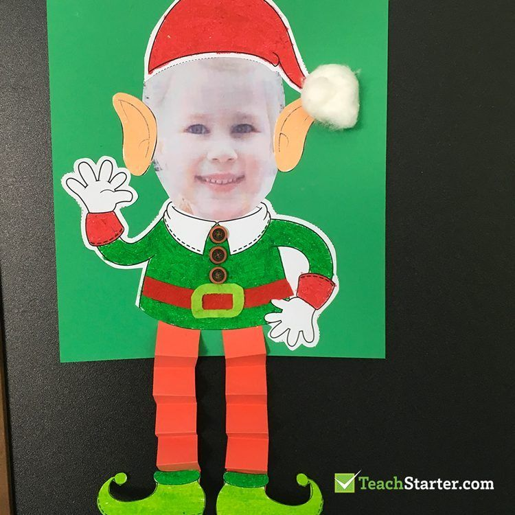 17 Christmas Crafts And Activities For The Classroom Teach Starter Classroom Christmas Decorations Elf Crafts Fun Christmas Activities