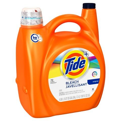 Tide Original Plus Bleach Alternative High Efficiency Liquid Laundry Detergent 138 Oz Laundry Detergent Liquid Laundry Detergent