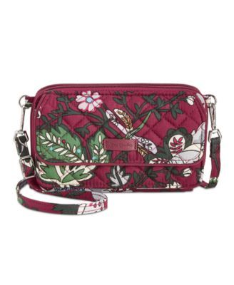 Vera Bradley Iconic Rfid All in One Crossbody - Purple   Products ... 841ecce89e