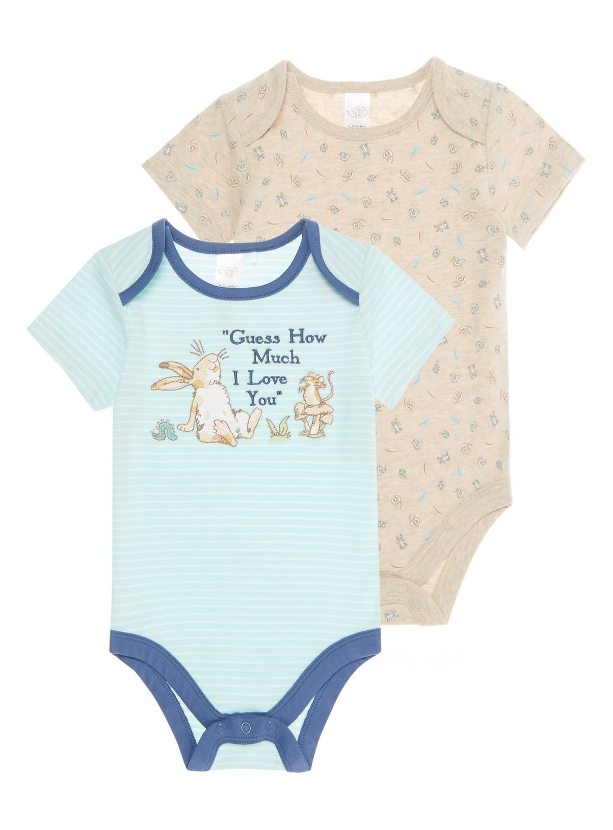 An essential for your baby this striped bodysuit with the lettering
