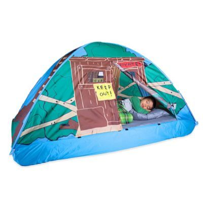 pacific play tents tree house twin bed tent - bedbathandbeyond