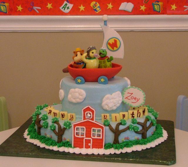 Zoey S Wonder Pets Cake Wonder Pets Girl Cakes Kids Cake