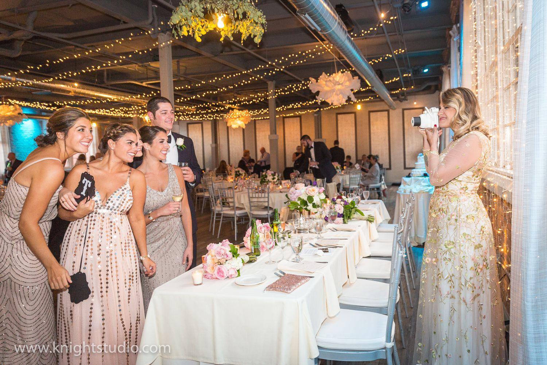 The Foundry Buffalo wedding, Chic wedding, Hotel reception