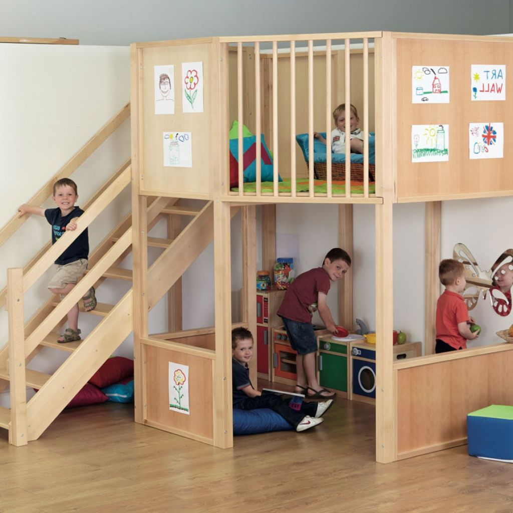 Basement Workout Area: Uncategorized , Awesome Looking Indoor Playground With