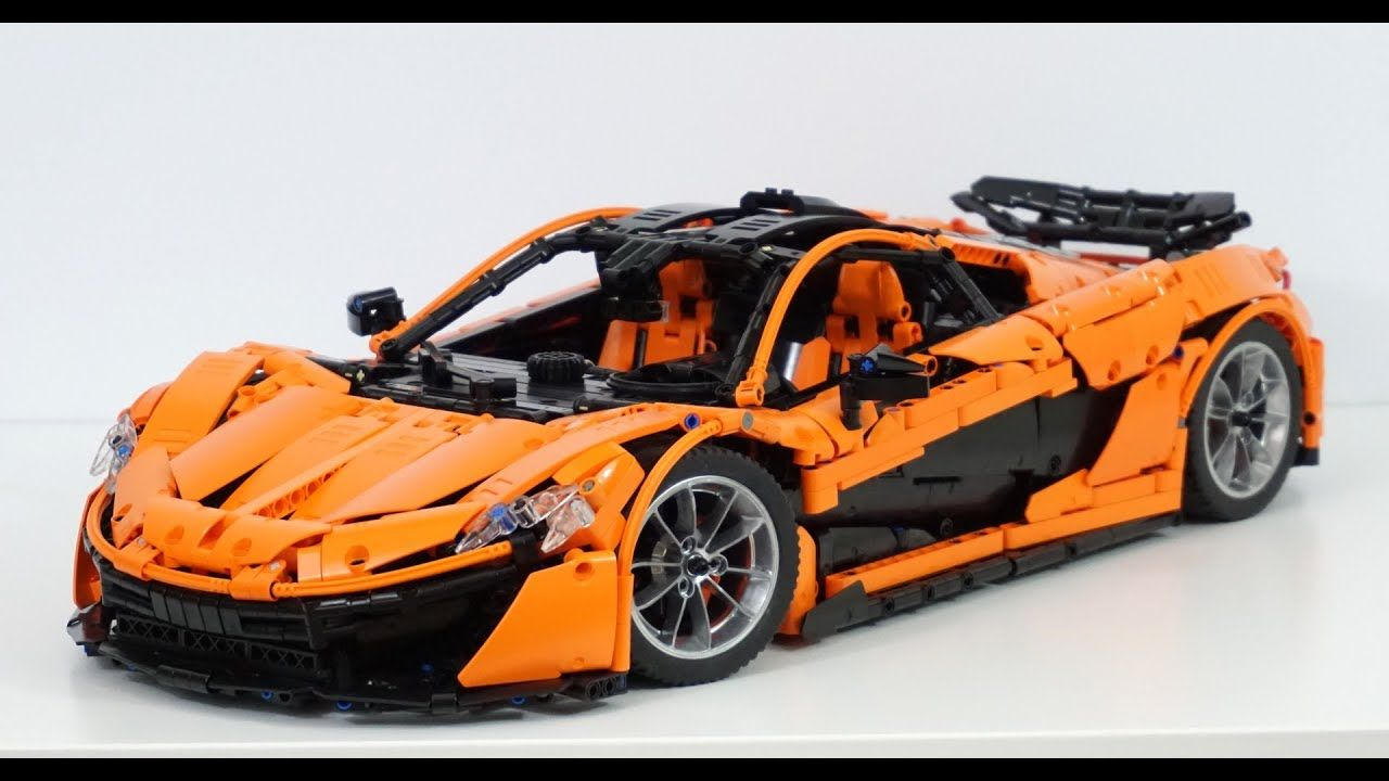 Lego Technic Moc Mclaren P1 Hypercar 1 8 W Instructions Lego Cars Lego Technic Lego Models