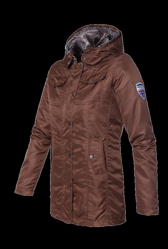 FLEECEMANTEL DAMEN - In diesem #Kurzmantel wirst Du Dich sehr wohl fühlen, die #Jacke ist mit super kuschelweichem Fell gefüttert, einfach ein absoluter Traum. Diese #Winterjacke wirst Du gar nicht mehr ausziehen wollen. #wasserabweisend #leicht #elegant #warm