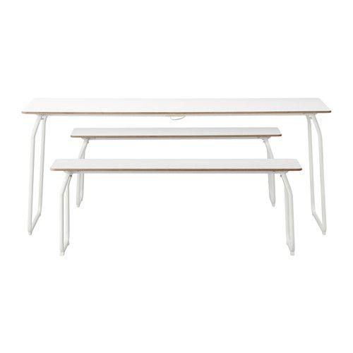 IKEA - IKEA PS 2014, Mesa 2 banco int/ext, Como son plegables, el ...